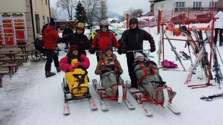 Sortie tandem ski 2017-02
